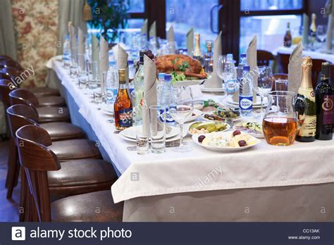 fancy table set for a dinner royalty free stock image russian restaurant detail of a fancy table set for