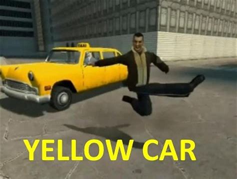 Yellow Meme - yellow car know your meme