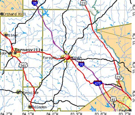 Forsyth County Ga Property Records Forsyth Ga 31029 Profile Population Maps Real Estate Averages Homes