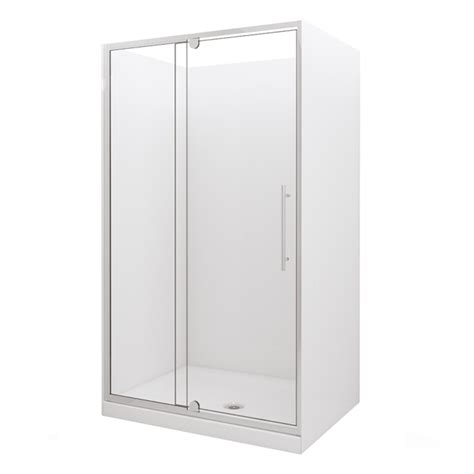 Selang Shower Steinlist stein alcove 1200x 900mm moulded shower sku 00292115 bunnings warehouse