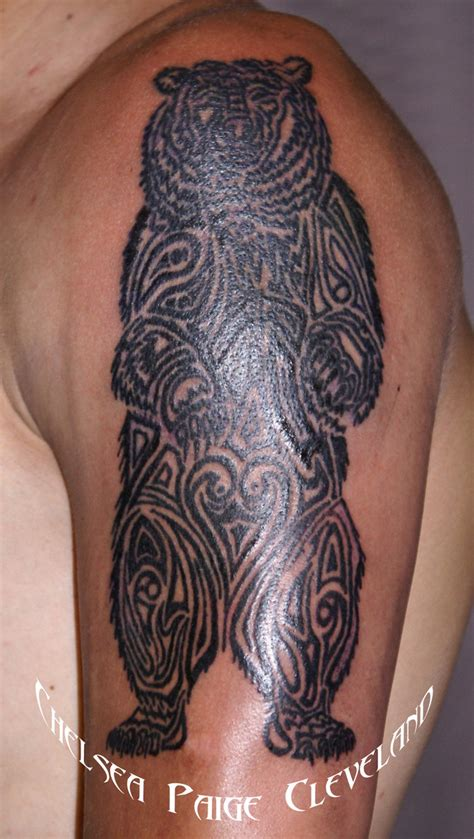 tattoo tribal bear wild tattoos tribal bear tattoos