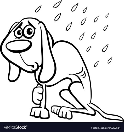homeless person coloring page poor homeless dog coloring page vector image coloring
