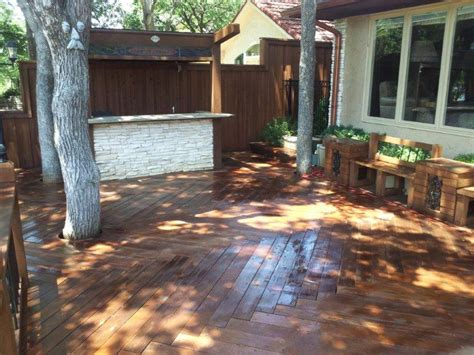 deck staining texas  stain
