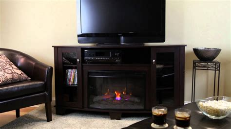 electric fireplace tv stand home depot fireplaces