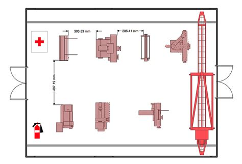 floor plan of factory factory layout floor plan plant layout plans factory