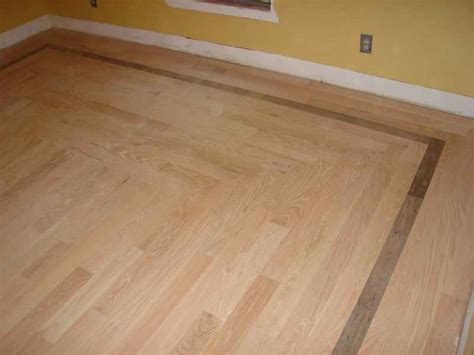 Hardwood Floor Borders Ideas Stencil On Hardwood Floor Thenest