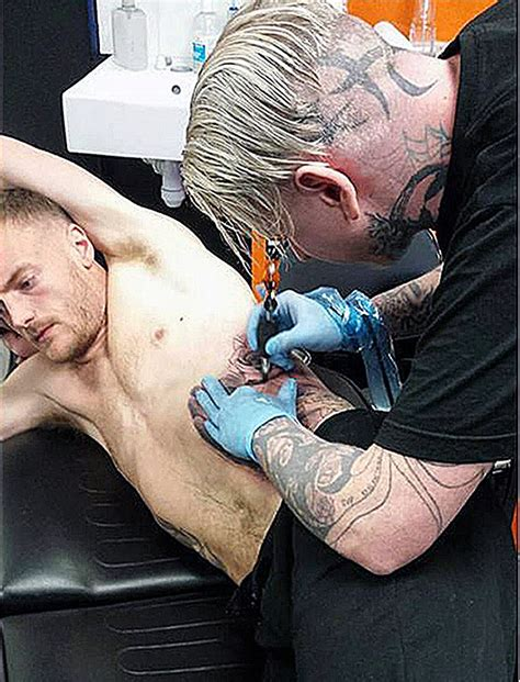 tattoo parlour leicester leicester city s vardy was getting tattoo before all spurs