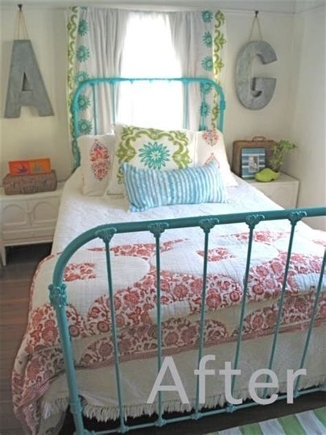 25 best ideas about painted iron beds on iron bed frames starfish habitat and