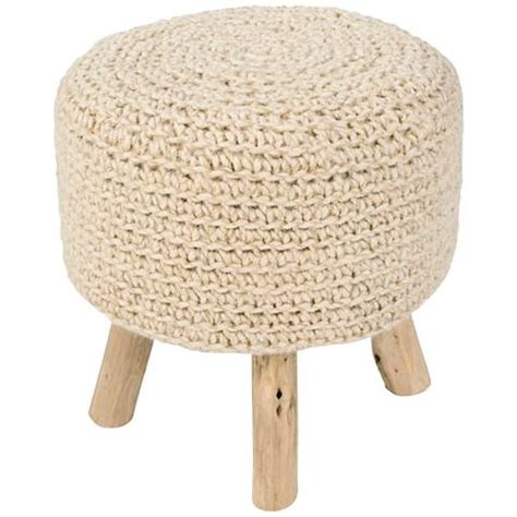 wooden legs for ottoman jaipur westport bleached sand wool with wooden legs