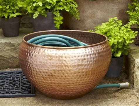Garden Hose Bowl Copper Hose Storage Bowl Leads Roundup Of New And