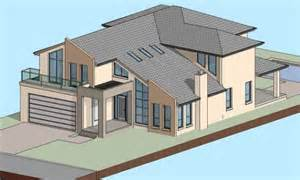 architectural home designer working with architectural design software