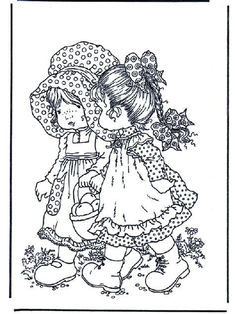 wandlen vintage para colorear dibujos