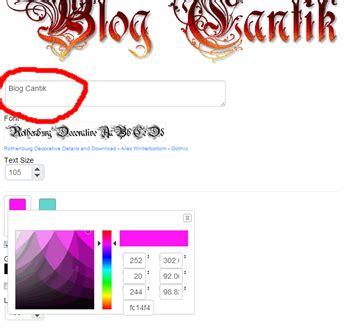 membuat logo blog hidroponik cara membuat logo blog