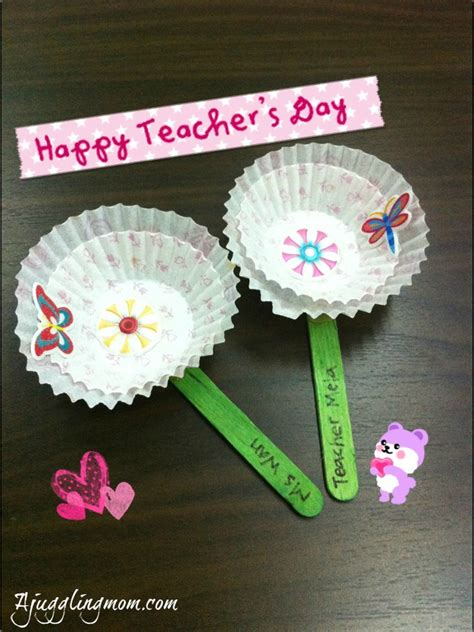 Teachers Day Handmade Gifts - handmade s day gift a juggling