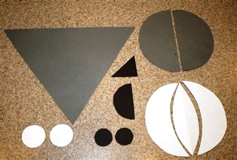 goat craft for g is for goat shapes craft