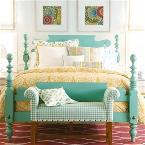 Turquoise Headboard by Luggage Everything Turquoise