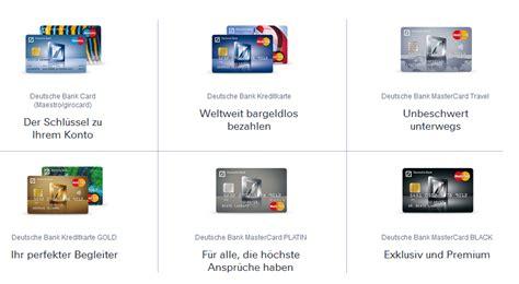 deutsche bank ec karte limit deutsche bank mastercard kosten und leistungen im test