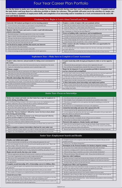career path template download template update234 com