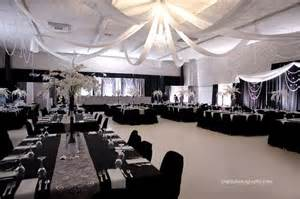 silver and black wedding ideas wedding decor by dar s decorating with grey and silver