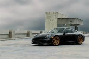 Porsche Aftermarket Black Porsche 911 Adv7r M V2 Cs Series Wheels