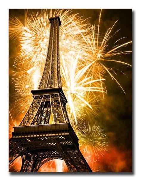 cuadros torre eiffel 27777146 cuadro torre eiffel y fuegos artificiales