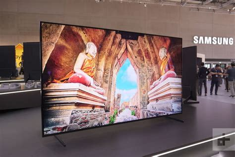 samsung s 85 inch q900r 8k qled now available for pre order digital trends