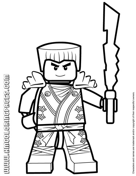 free coloring pages of ninjago gold ninja