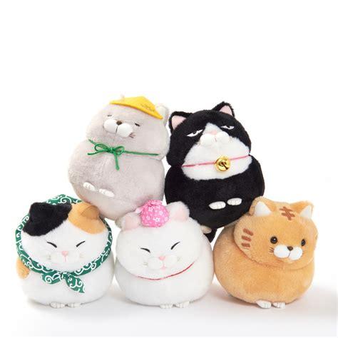 Hige Manjyu Diecut Cat Blankets hige manjyu tabi cat plush collection standard tokyo