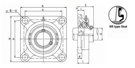 Pillow Block Bearing Ucf 206 30mm Ntn Japan 30mm 4 bolt flange bearings ucf 206 30