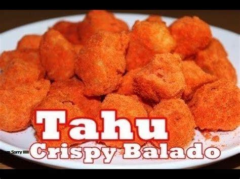 cara membuat jamur crispy rasa balado resep dan cara mudah membuat tahu crispy balado ala