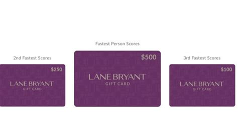 Lane Bryant Gift Card Balance - lane bryant gift card number lamoureph blog