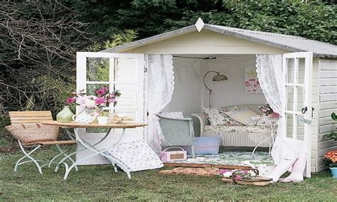 shabby chic shed country office decor garden shed retreat unique garden sheds garden ideas ideasonthemove