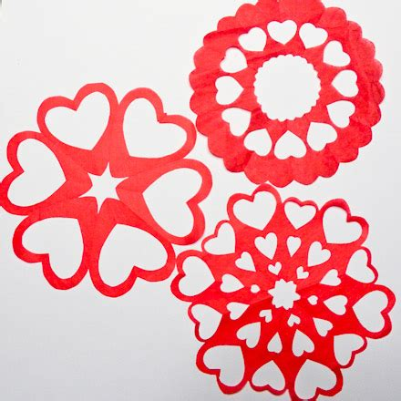 printable heart snowflake template valentine heart snowflake patterns symmetry in