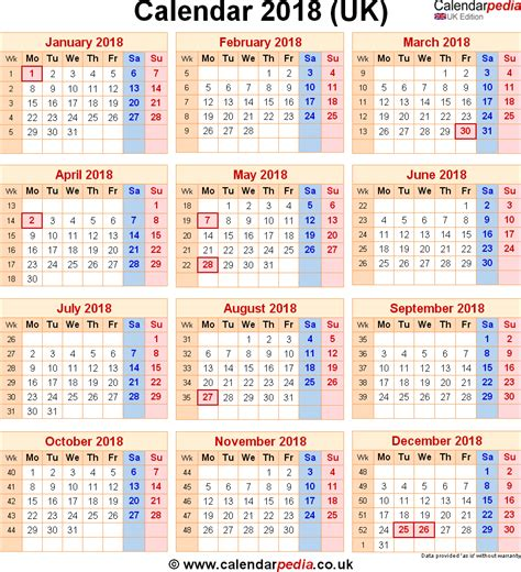 printable calendar uk 2018 calendar uk calendar monthly printable