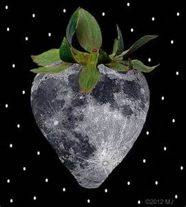 what is a strawberry moon tarot girl june full moon strawberry