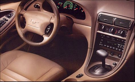 99 04 Mustang Interior by Timeline 2002 Mustang The Mustang Source