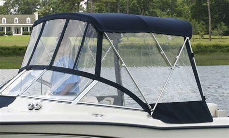 boat t top windshield bimini visor factory oem for grady white 174 freedom 255