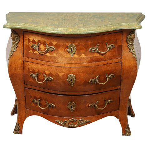 Bombay Dresser by Swedish Rococo Bombay Chest For Sale At 1stdibs