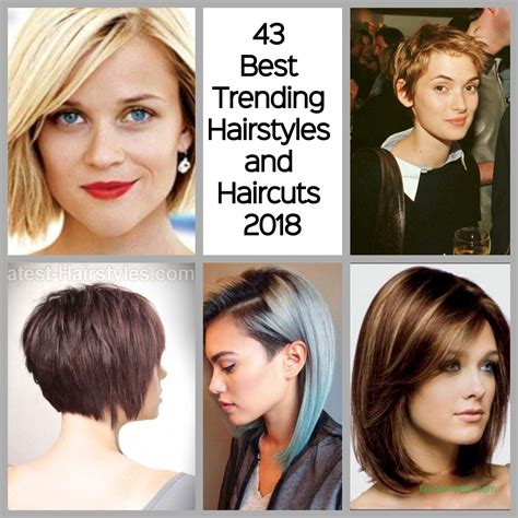 2018 Hairstyle For by 43 Best Trending Hairstyles And Haircuts 2018 Fashionetter