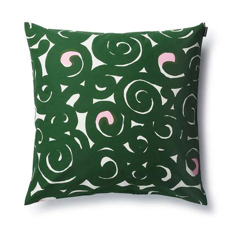 Marimekko Pillow by Marimekko Sonaatti Green Throw Pillow Marimekko Throw