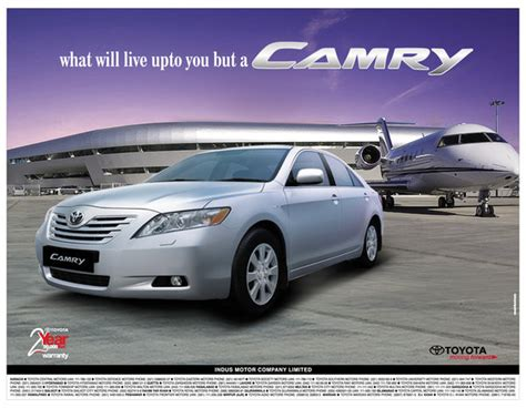 Toyota Advertising Toyota Camry Press Ad 1 By Moodali On Deviantart