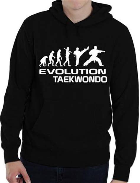 Hoodie Sweater Taekwondo Terlaris Realpict 1 evolution of taekwondo martial arts mens hoodie gift size s ebay