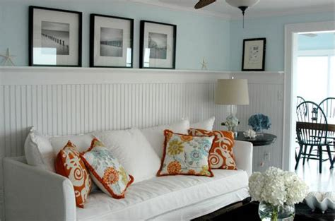 Orange Chair Slipcover Day 17 Add Some Wainscoting To Your Home