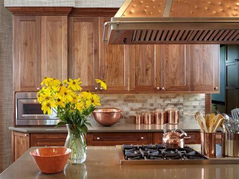 copper accent kitchen photos hgtv