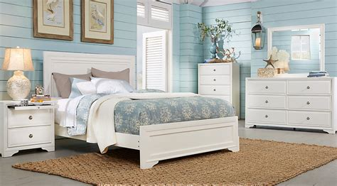 bedroom furniture set white belcourt white 5 pc king panel bedroom king bedroom sets