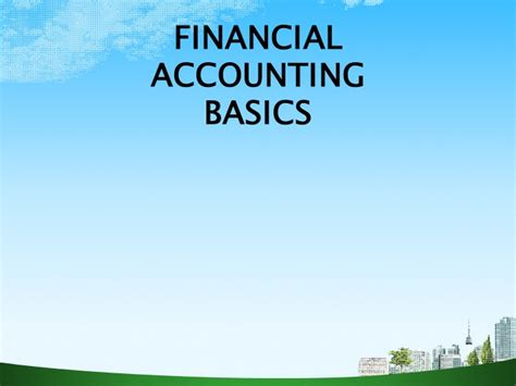 Mba Financial Accounting Primer Se by Financial Statements Ppt Bec Doms