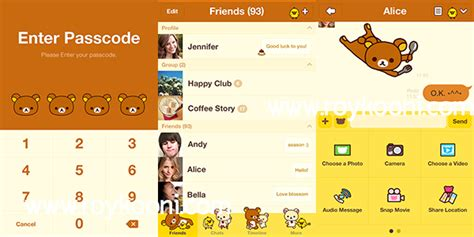 theme line android nisekoi เปล ยน theme line android one piece