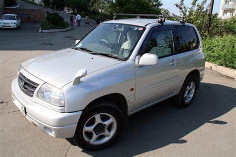 suzuki escudo 2001 2001 suzuki escudo pictures gasoline manual for sale