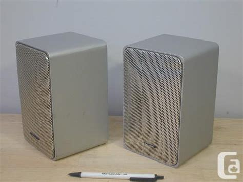 radio shack minimus 7 silver pair of speakers for sale