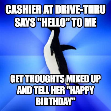 Penguin Birthday Meme - livememe com socially awkward penguin
